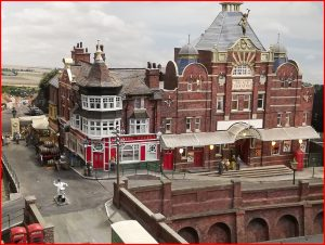 model of the Palace Theatre Grimsby