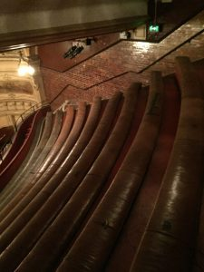 Up in the gods Kings Theatre