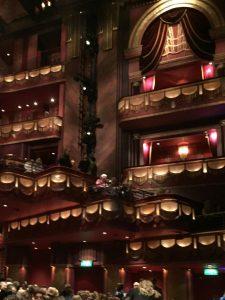 Prince Edward Theatre London balconies